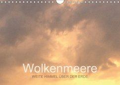 Wolkenmeere - Weite Himmel über der Erde (Wandkalender 2018 DIN A4 quer)