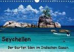 Seychellen - Der Garten Eden im Indischen Ozean (Wandkalender 2018 DIN A4 quer)