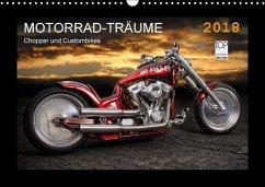 Motorrad-Träume - Chopper und Custombikes (Wand...