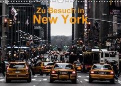 Zu Besuch in New York (Wandkalender 2018 DIN A3 quer)