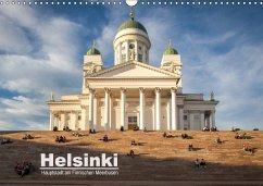 Helsinki - Hauptstadt am Finnischen Meerbusen (Wandkalender 2018 DIN A3 quer)