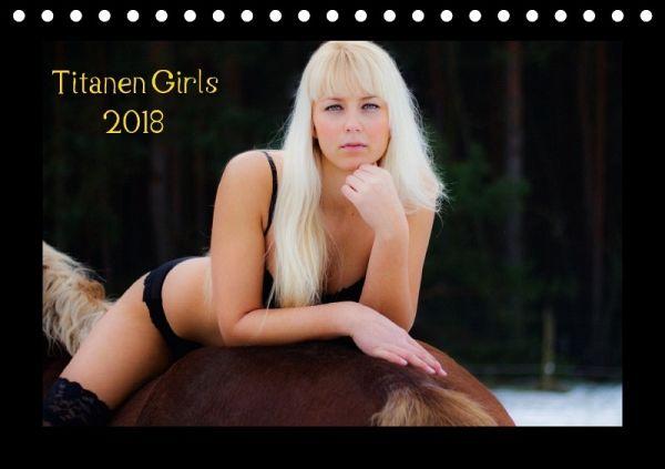 Titanen Girls 2018 Erotische Frauen Und Starke Pferde