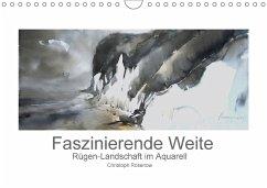 Faszinierende Weite. Rügen-Landschaft im Aquarell (Wandkalender 2018 DIN A4 quer)