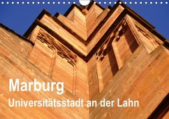 Marburg - Universitätsstadt an der Lahn (Wandkalender 2018 DIN A4 quer)