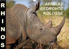 RHINOS - AFRIKAS BEDROHTE KOLOSSE (Wandkalender 2018 DIN A3 quer) Dieser erfolgreiche Kalender wurde dieses Jahr mit gleichen Bildern und aktualisiertem Kalendarium wiederveröffentlicht.