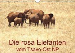 Die rosa Elefanten vom Tsavo-Ost NP (Wandkalender 2018 DIN A4 quer)