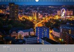 Hamburger Hafen - Im Zauber der Nacht (Wandkalender 2018 DIN A3 quer)