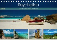 Seychellen - Ein letztes Paradies auf Erden (Tischkalender 2018 DIN A5 quer)