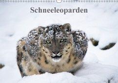 Schneeleoparden (Wandkalender 2018 DIN A3 quer)