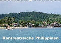 Kontrastreiche Philippinen (Wandkalender 2018 D...
