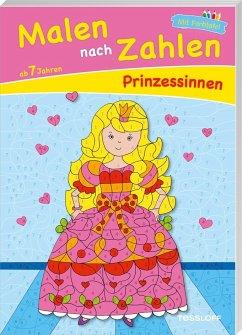 Malen nach Zahlen Prinzessinnen ab 7 Jahren
