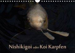 Nishikigoi oder Koi Karpfen (Wandkalender 2018 DIN A4 quer)