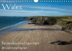Wales- Pambrokeshire Coast Path- Druidstone Haven (Wandkalender 2018 DIN A4 quer)