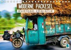 Moderne Packesel: kuriose Logistik (Tischkalender 2018 DIN A5 quer)