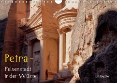 Petra - Felsenstadt in der Wüste (Wandkalender 2018 DIN A4 quer)