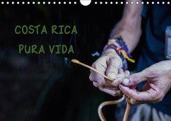 COSTA RICA - PURA VIDAAT-Version (Wandkalender 2018 DIN A4 quer)