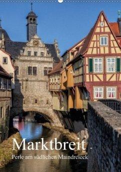 Marktbreit - Perle am südlichen Maindreieck (Wandkalender 2018 DIN A2 hoch)