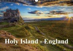 Holy Island - England (Wandkalender 2018 DIN A3 quer)