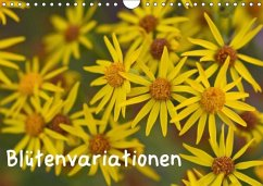 Blütenvariationen / Geburtstagskalender (Wandkalender 2018 DIN A4 quer)