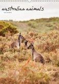 australian animals (Wandkalender 2018 DIN A3 hoch)
