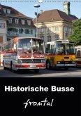 Historische Busse frontal (Wandkalender 2018 DIN A3 hoch)