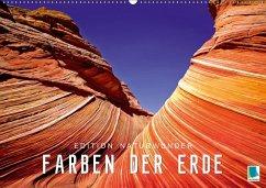 Die Farben der Erde - Edition Naturwunder (Wandkalender 2018 DIN A2 quer)
