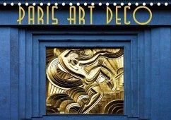 Paris Art Deco (Tischkalender 2018 DIN A5 quer)