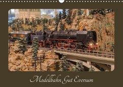 Modellbahn Gut Eversum (Wandkalender 2018 DIN A3 quer)