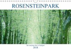 Rosensteinpark - Der bedrohte Park in Stuttgart (Wandkalender 2018 DIN A4 quer) - Allgaier, Herb