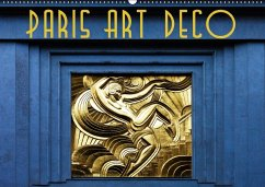 Paris Art Deco (Wandkalender 2018 DIN A2 quer)