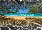 Colors of HAWAII (Wandkalender 2018 DIN A4 quer)