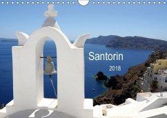 Santorin 2018 (Wandkalender 2018 DIN A4 quer)