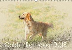 Golden Retriever 2018 (Wandkalender 2018 DIN A3 quer) Dieser erfolgreiche Kalender wurde dieses Jahr mit gleichen Bildern und aktualisiertem Kalendarium wiederveröffentlicht.