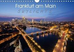 Frankfurt am Main Skylights (Wandkalender 2018 DIN A4 quer)