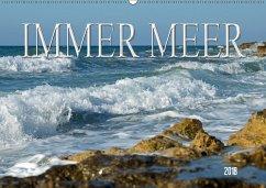 Immer Meer (Wandkalender 2018 DIN A2 quer)