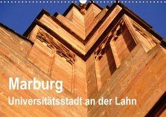 Marburg - Universitätsstadt an der Lahn (Wandkalender 2018 DIN A3 quer)