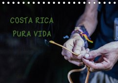 COSTA RICA - PURA VIDAAT-Version (Tischkalender 2018 DIN A5 quer)