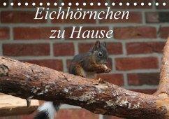 Eichhörnchen zu Hause (Tischkalender 2018 DIN A5 quer)