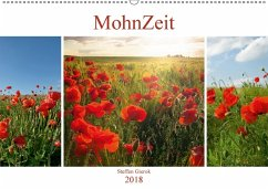 MohnZeit (Wandkalender 2018 DIN A2 quer) Dieser erfolgreiche Kalender wurde dieses Jahr mit gleichen Bildern und aktualisiertem Kalendarium wiederveröffentlicht.