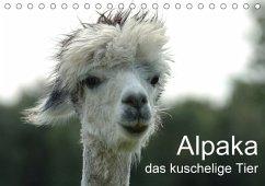 Alpaka, das kuschelige Tier (Tischkalender 2018 DIN A5 quer)