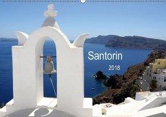 Santorin 2018 (Wandkalender 2018 DIN A2 quer)