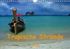 Tropische Strände (Wandkalender 2018 DIN A4 quer)