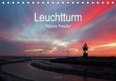 """Leuchtturm """"Kleiner Preuße"""" (Tischkalender 2018 DIN A5 quer)"""