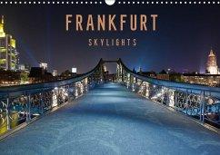 Frankfurt Skylights 2018 (Wandkalender 2018 DIN A3 quer)