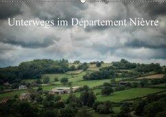 Unterwegs im Département Nièvre (Wandkalender 2018 DIN A2 quer)