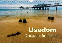 Usedom - Deutscher Inseltraum (Wandkalender 2018 DIN A4 quer) - Wasilewski, Martin