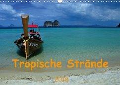 Tropische Strände (Wandkalender 2018 DIN A3 quer)