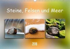 Steine, Felsen und Meer (Wandkalender 2018 DIN ...