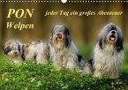 PON - Welpen, jeder Tag ein großes Abenteuer (Wandkalender 2018 DIN A3 quer)