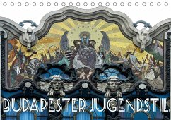 Budapester Jugendstil (Tischkalender 2018 DIN A5 quer)